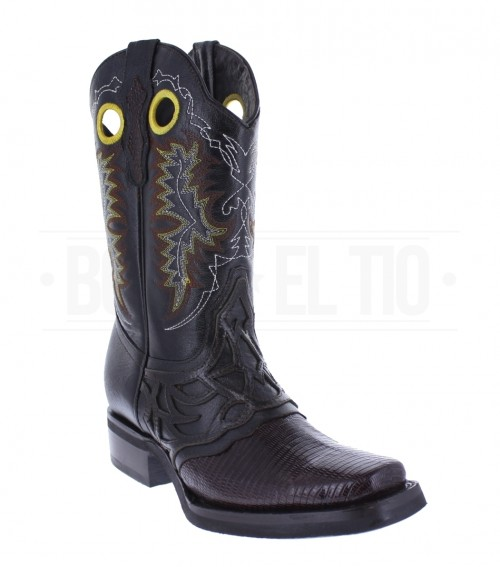 BOTAS RODEO ORIGINAL LIZARD ARMADILLO EL GENERAL