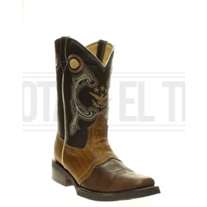 BOTA VAQUERA RODEO RES ANTIFAZ MIEL